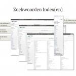 Zoekwoorden Index(en)